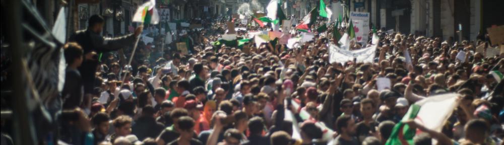 L'Algérie après le 22 février : ébauche d'une ethnographie en temps de crise