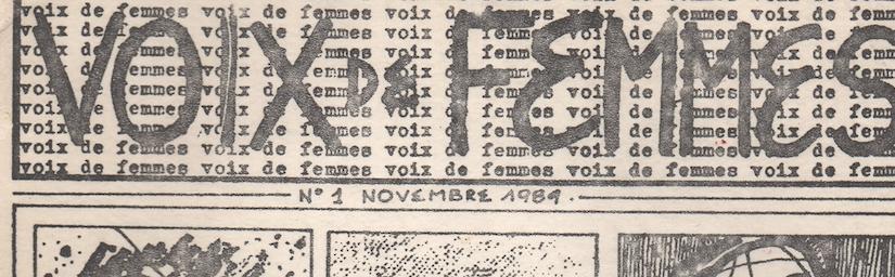 Archives des luttes des femmes en Algérie